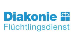 Logo Diakonie Flüchtlingsdienst
